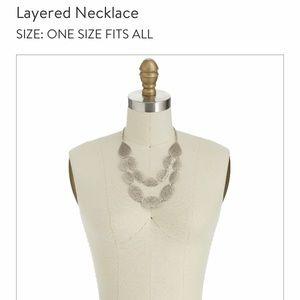 Stitch fix layered necklace.